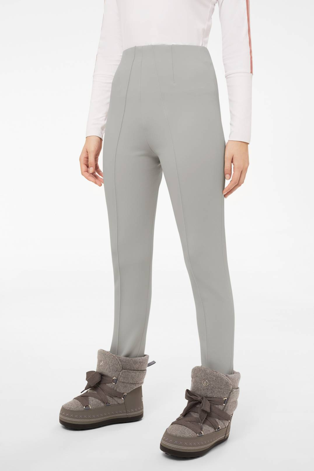 1d2f91a74020e Bogner Sport Elaine Stirrup trousers in Silver grey for Women ...