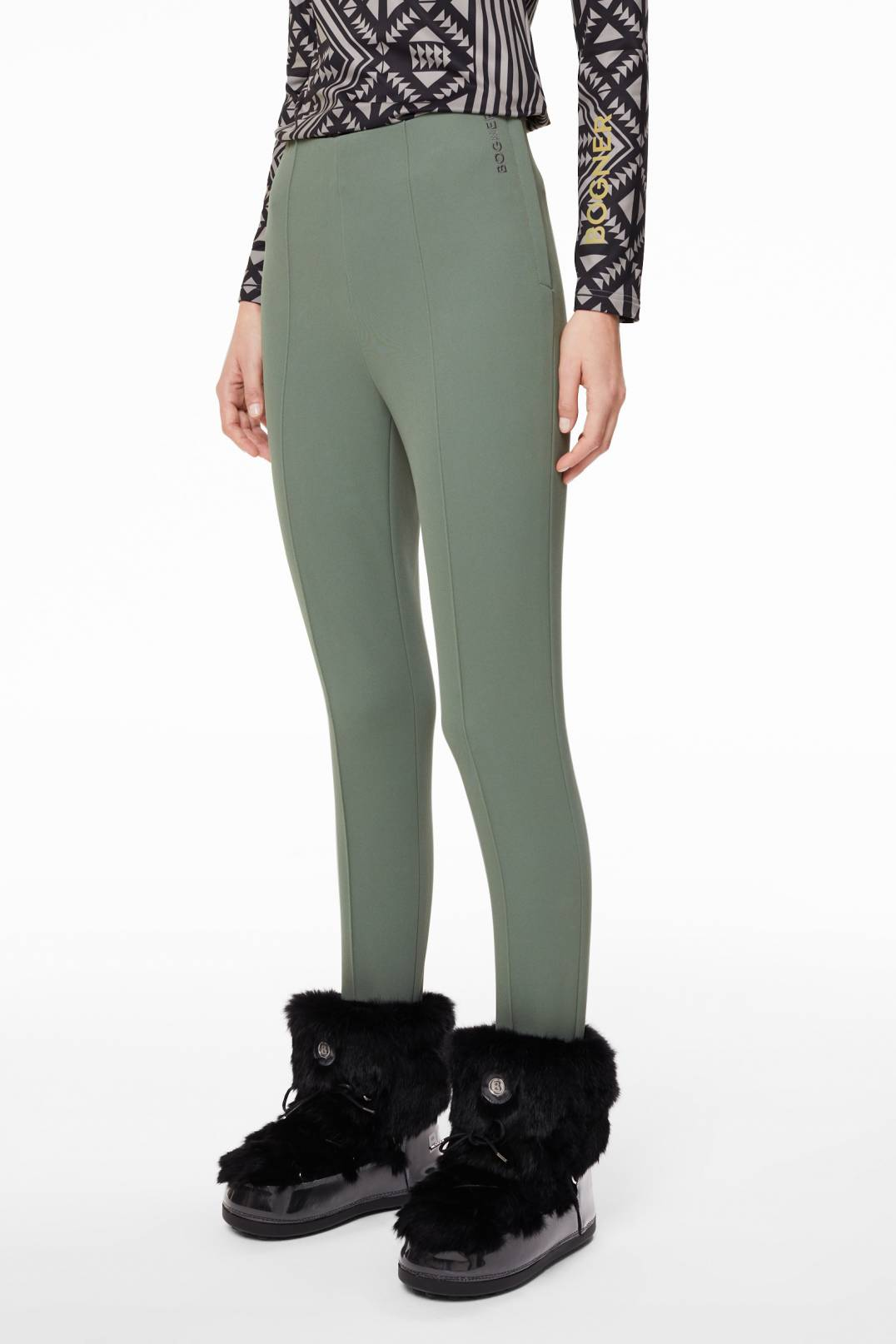 8d75c5feb50ff Bogner Sport Elaine Stirrup trousers in Olive green for Women ...