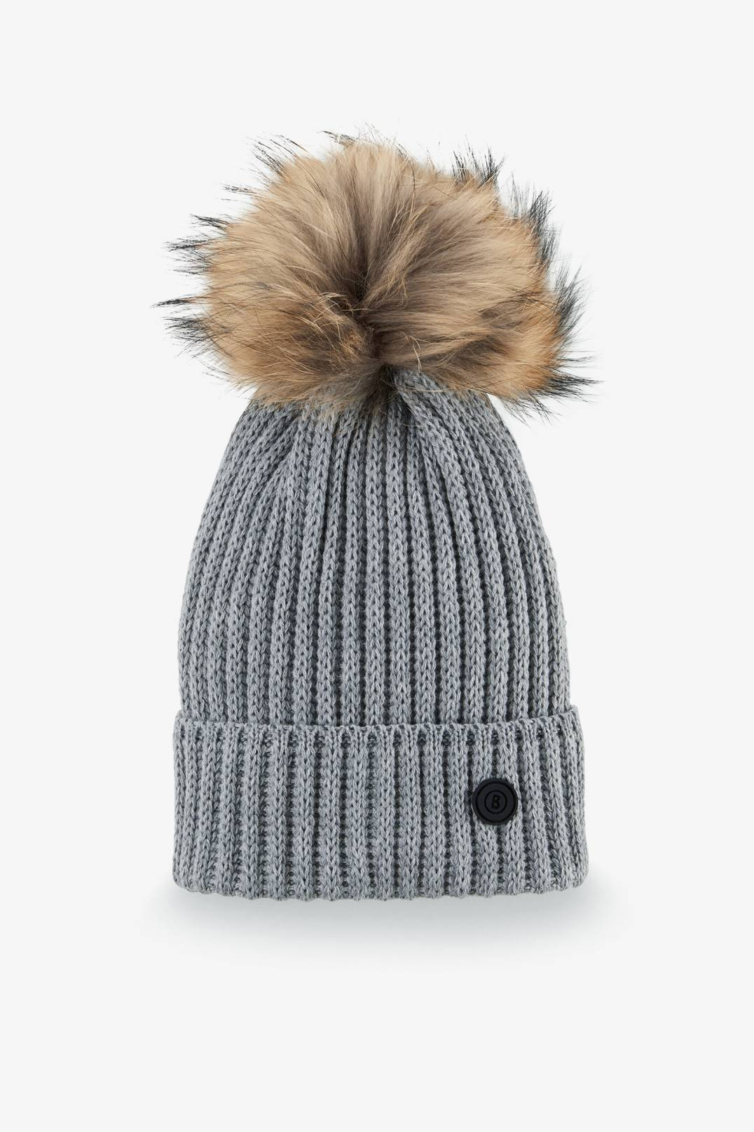 85306f2e651 Bogner Sport Leonie Knitted hat in Husky grey for Woman