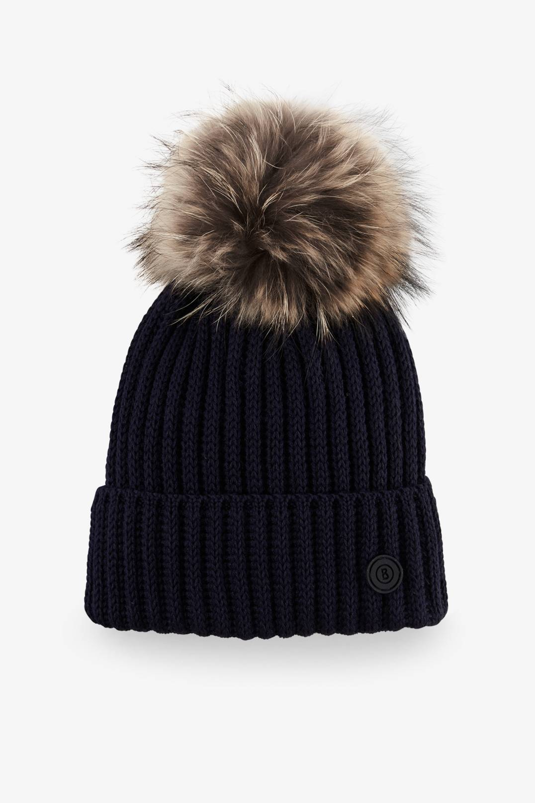 dd8611ea079 Bogner Sport Leonie Knitted hat in Navy blue for Woman