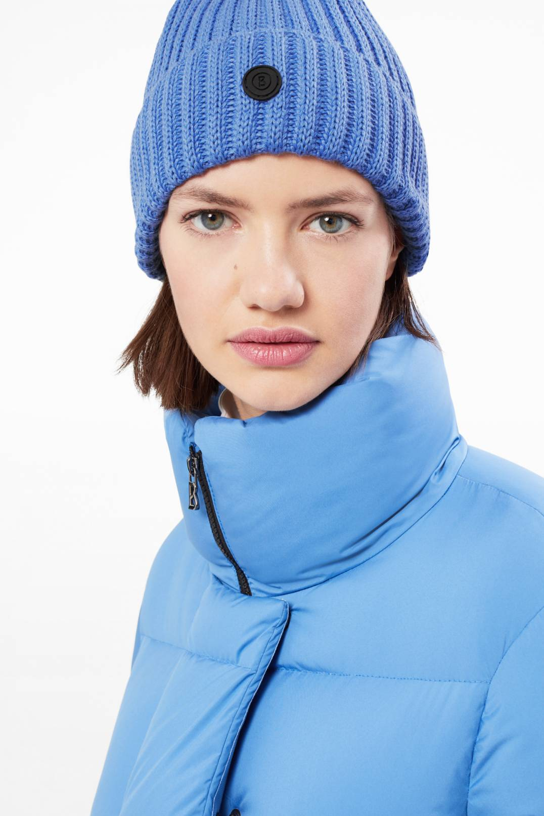 b1c6fff689d Bogner Emira Knitted cap in Azure blue for Women