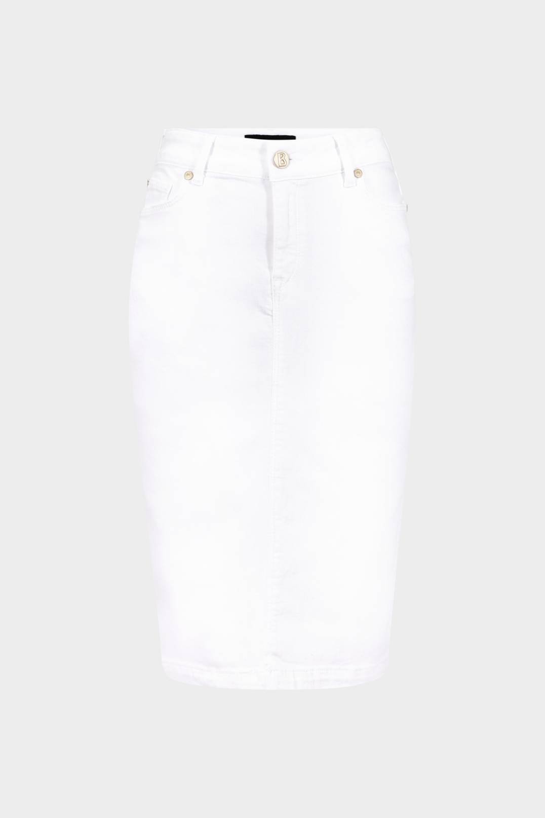 fabeb39dff0b84 Bogner Jodie Jean skirt in White for Women | BOGNER EU
