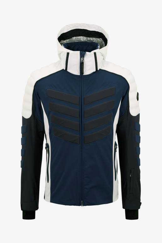 Bogner Sport Liam Ski jacket in Navy blue White for Men  42bb9a518